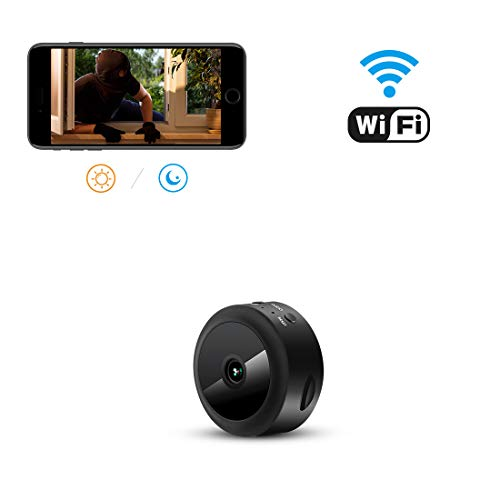 AOBO Hidden Camera WiFi Camera Mini Wireless HD 1080P Indoor Home Small Hidden Nanny Cam Security Cameras (spy Camera)