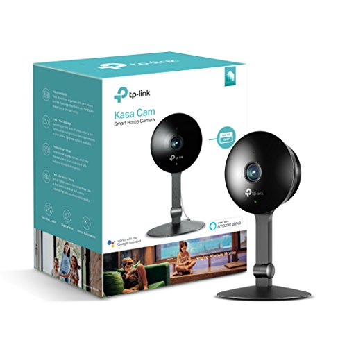 Kasa Cam 1080p Smart Home Security Camera by TP-Link, KC120, Works with Alexa (Echo Show/Fire TV), Google Assistant (Chromecast)