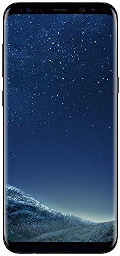 Samsung Galaxy S8 Plus 64GB - Verizon + GSM Factory Unlocked 4G LTE - Midnight Black (Certified Refurbished)