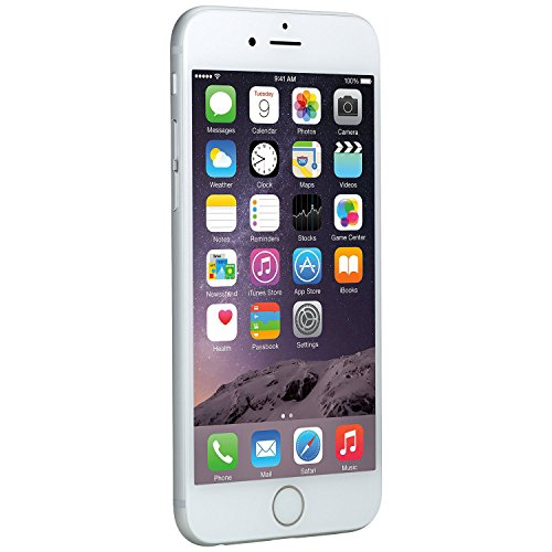 Apple iPhone 6, AT&T, 16GB - Silver (Refurbished)