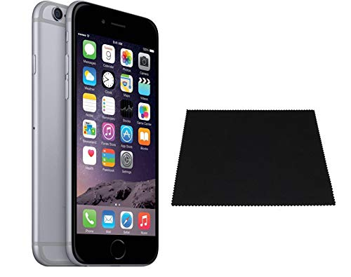 Apple iPhone 6 32 GB LOCKED to Straight-Talk/Total Wireless, Space Gray / With Bonus Microfiber Cleaning Cloth