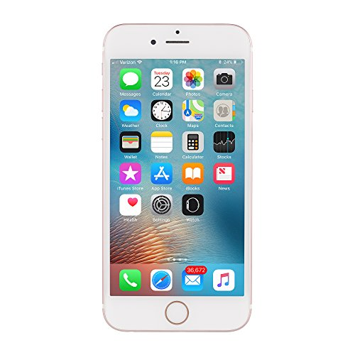 Apple iPhone 6S, AT&T, 16 GB, Rose Gold (Refurbished)