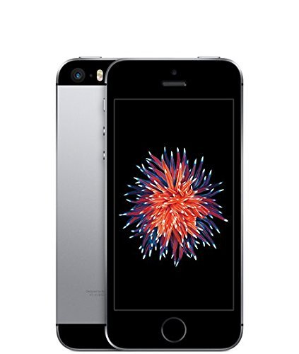 Apple iPhone SE, GSM Unlocked, 16 GB - Space Gray (Refurbished)
