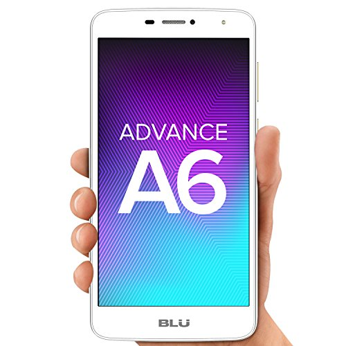 """BLU Advance A6 -Unlocked Dual Sim Smartphone - 6.0"""" HD Display - Gold"""