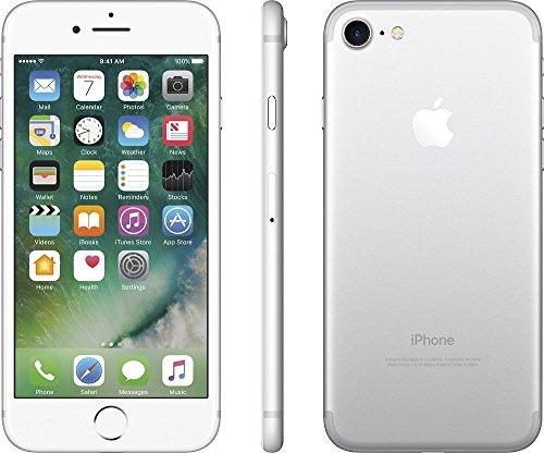 Apple iPhone 7, GSM Unlocked, 32GB - Silver (Refurbished)