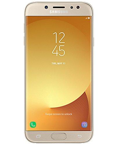 "Samsung Galaxy J7 Pro (32GB) J730G/DS - 5.5"" Full HD Dual SIM Unlocked Phone with Finger Print Sensor (International Version - Global 4G LTE) (Gold)"
