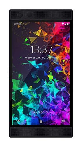 Razer Phone 2 (New): Unlocked Gaming Smartphone - 120Hz QHD Display - Snapdragon 845 - Wireless Charging - Razer Chroma - 8GB RAM - 64GB - Mirror Black Finish