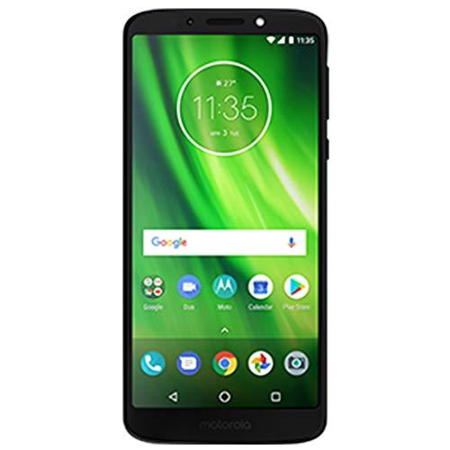 "Motorola Moto G6 Plus - 64GB - 5.9"" FHD+, Dual SIM 4G LTE GSM Factory Unlocked Smartphone International Model XT1926-7 (Deep Indigo)"