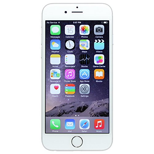 Apple iPhone 6 Plus, GSM Unlocked, 64GB - Silver (Refurbished)