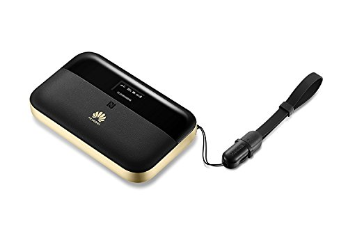 Huawei E5885Ls-93a 300 Mbps 4G LTE Mobile WiFi (4G LTE globally, including AT&T and T-Mobile, 25 hour work time) (Black)