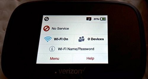 Novatel Verizon Wireless Jetpack 7730L 4G LTE Advanced Mobile Hotspot
