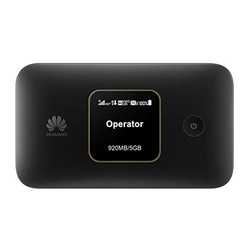 Huawei E5785Lh-22c 300 Mbps 4G LTE & 43.2 Mpbs 3G Mobile WiFi (4G LTE in Europe, Asia, Middle East, Africa & 3G globally, 12 hrs working, E5786s-32 Successor (Black)