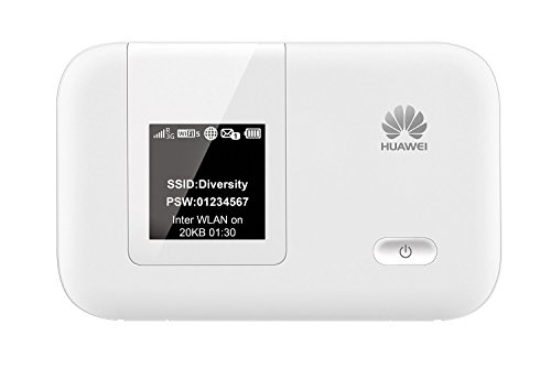 Huawei E5372s-22 150 Mbps 4G LTE & 42 Mbps 3G Mobile WiFi Hotspot (4G LTE & 3G in Europe, Asia, Middle East, Africa)
