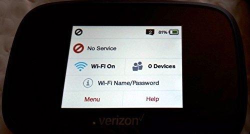 Novatel Verizon Wireless Jetpack 7730L 4G LTE Advanced Mobile Hotspot MIFI7730L (Certified Refurbished)
