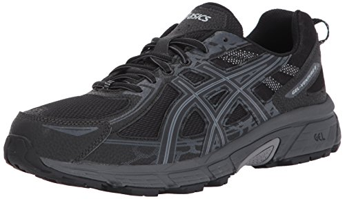 ASICS Mens Gel-Venture 6 Running Shoe, Frost Grey/Phantom/Black, 11 4E US