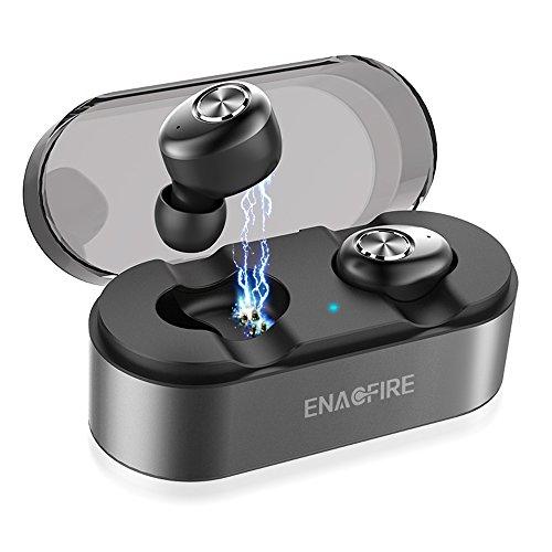 Wireless Earbuds, ENACFIRE E18 Latest Bluetooth 5.0 True Wireless Bluetooth Earbuds 15H Playtime 3D Stereo Sound Wireless Headphones, Built-in Microphone