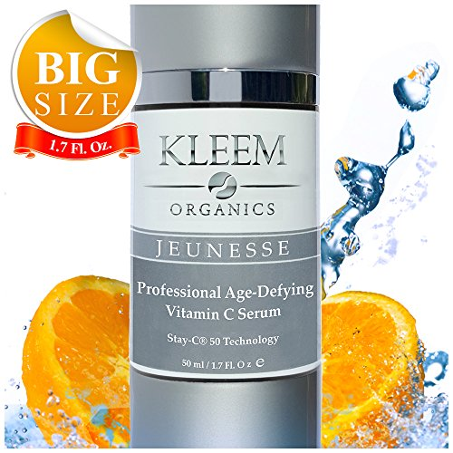 NEW Anti Wrinkle Serum for Face: with Vitamin C and E and Hyaluronic Acid - BIG BOTTLE (1.7fl.Oz) - The Most Loved Vitamin C Facial Serum - Age Spot Remover for Face on the market - Results in 5 Weeks