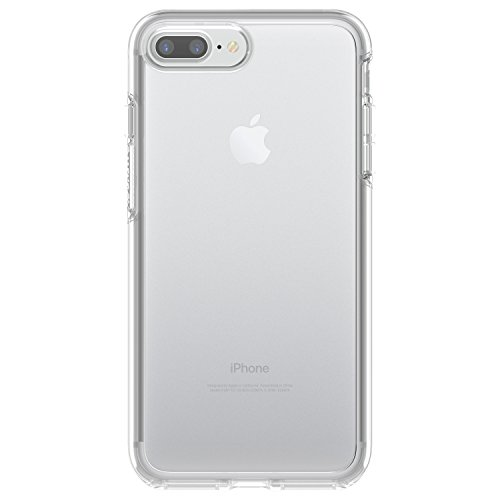 OtterBox SYMMETRY CLEAR SERIES Case for  iPhone 8 Plus & iPhone 7 Plus (ONLY) - Retail Packaging - CLEAR