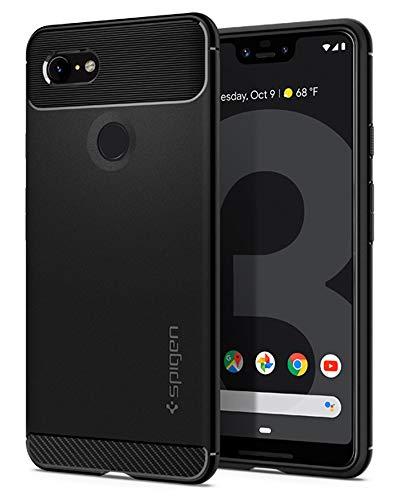 Spigen Rugged Armor Designed for Google Pixel 3 XL Case (2018) - Black