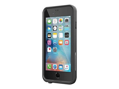 """Lifeproof FRĒ SERIES iPhone 6/6s Waterproof Case (4.7"""" Version) - Retail Packaging - BLACK"""