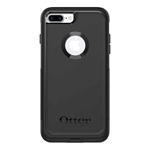 OtterBox COMMUTER SERIES Case for  iPhone 8 Plus & iPhone 7 Plus (ONLY) - Retail Packaging - BLACK