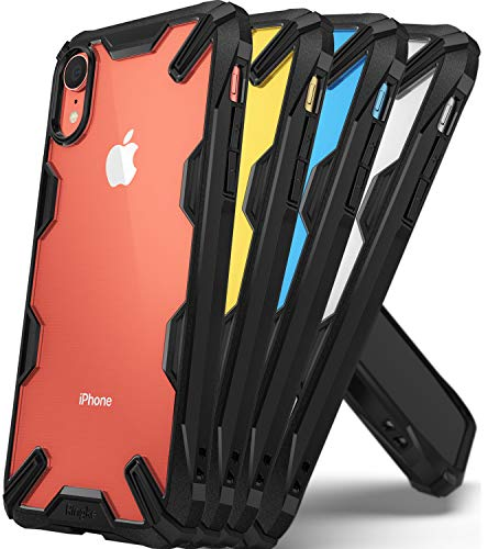 "Ringke Fusion X Designed for iPhone XR Case Smartphone Protective Cover (6.1"") (2018) - Black"