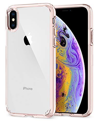 Spigen Ultra Hybrid Designed for Apple iPhone Xs Case (2018) / Designed for Apple iPhone X Case (2017) - Rose Crystal