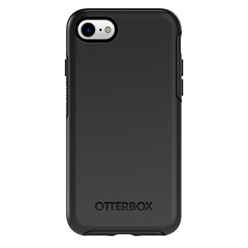 OtterBox SYMMETRY SERIES Case for iPhone 8 & iPhone 7 (NOT Plus) - Retail Packaging - BLACK