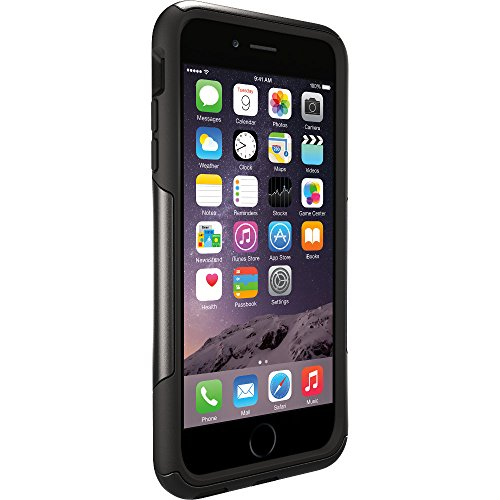 "OtterBox Commuter Series Case for iPhone 6 Plus/6s Plus (5.5"" Version) - Frustration Free Packaging - Black"