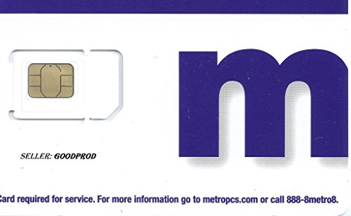 Metro PCS Try Cut SIM Card