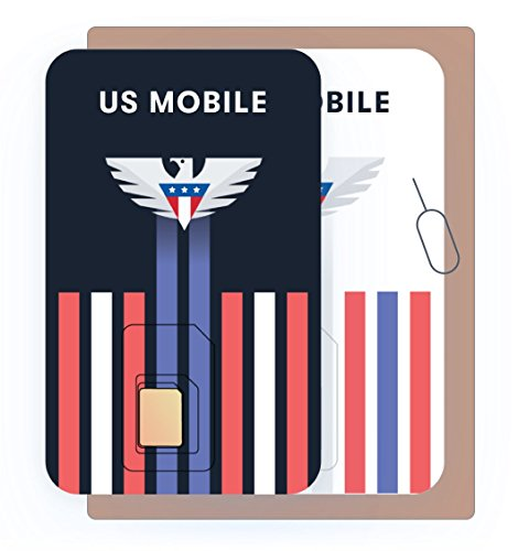 US Mobile Prepaid SIM Card Starter Kit - Custom Plans from $4/mo. Unlimited Plans from $10/mo.