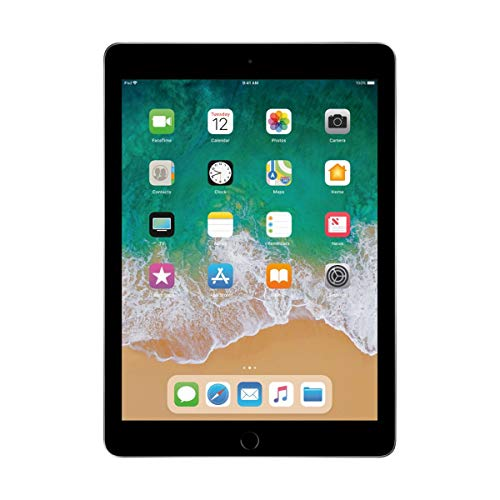"""Apple 9.7"""" iPad (Early 2018, 32GB, Wi-Fi Only, Space Gray) MR7F2LL/A,Gray"""