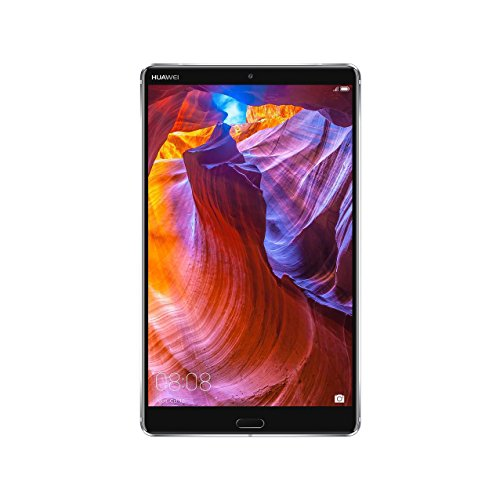 """Huawei MediaPad M5 Android Tablet with 8.4"""" 2.5D Display, Octa Core, Quick Charge, Dual Harman Kardon-Tuned Speakers, WiFi Only, 4Gb+64Gb, Space Gray (US Warranty)"""