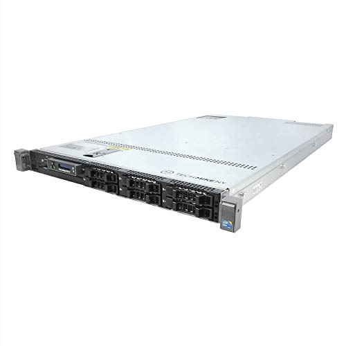 Energy-Efficient Dell PowerEdge R610 Server 2 x 2.26Ghz L5520 QC 48GB 2x160GB SSD (Certified Refurbished)