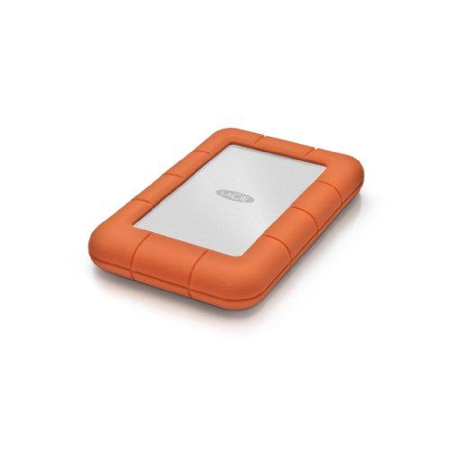 LaCie Rugged Mini USB 3.0 / USB 2.0 2TB External Hard Drive (9000298)