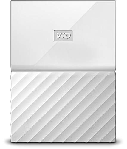 WD 4TB White My Passport Portable External Hard Drive - USB 3.0 - WDBYFT0040BWT-WESN