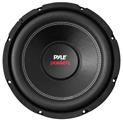 "10"" Car Audio Speaker Subwoofer - 1000 Watt High Power Bass Surround Sound Stereo Subwoofer Speaker System - Non Press Paper Cone, 90 dB, 4 Ohm, 50 oz Magnet, 2 Inch 4 Layer Voice Coil - Pyle PLPW10D"