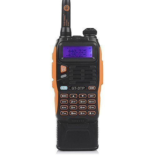 BaoFeng GT-3TP Mark-III 8W/4W/1W Ham Radio Handheld Dual Band Two-Way Radio with 7.4V 3800mAh Battery + Upgraded Chip + High Gain Antenna + Car Charger