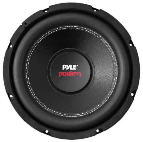 "12"" Car Audio Speaker Subwoofer - 1600 Watt High Power Bass Surround Sound Stereo Subwoofer Speaker System - Non Press Paper Cone, 90 dB, 40 Ohm, 60 oz Magnet, 2 Inch 4 Layer Voice Coil - Pyle PLPW12D"