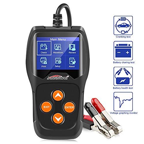 Reviews Summary For Konnwei Kw600 Car Battery Tester 12v