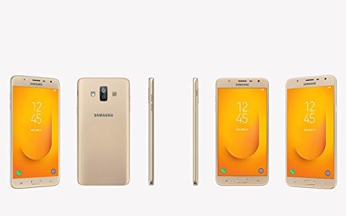 "Samsung Galaxy J7 Duo(16GB) J720M - Dual Camera's, 5.5"" Full HD Unlocked Phone with Finger Print Sensor (International Version, No Warranty) (Gold)"